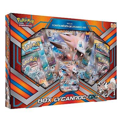 Pokémon TCG: Box Lycanroc-GX