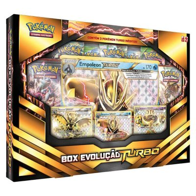Pokémon TCG: Box Evolução Turbo