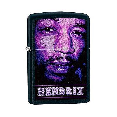 Isqueiro Zippo 29168 Classic Jimi Hendrix Preto