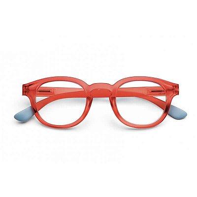 Óculos de Leitura com Filtro Digital Blue Ban B+D Vermelho