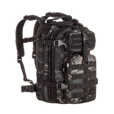 Mochila Camuflada Assault Multicam Black Invictus