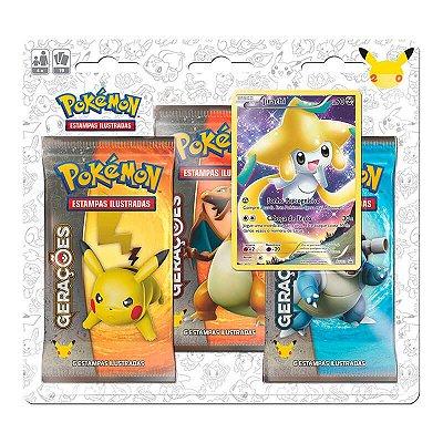Pokémon TCG: Triple Pack Gerações - Jirachi