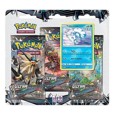 Pokémon TCG: Triple Pack SM5 Ultra Prisma - Vulpix de Alola