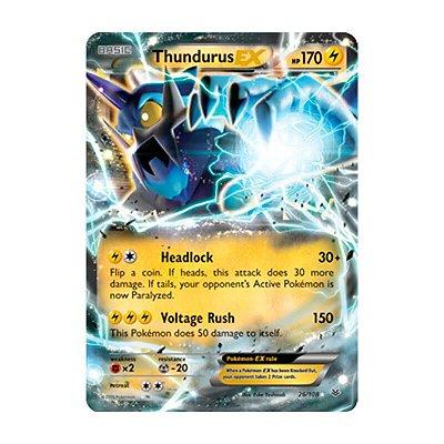 Pokémon TCG: Thundurus EX (26/108) - XY6 Céus Estrondosos