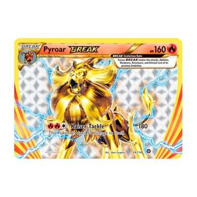 Pokémon TCG: Pyroar TURBO (24/114) - XY11 Cerco de Vapor