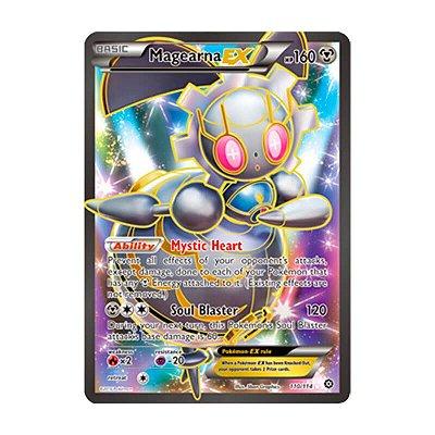 Pokémon TCG: Magearna EX (110/114) - XY11 Cerco de Vapor