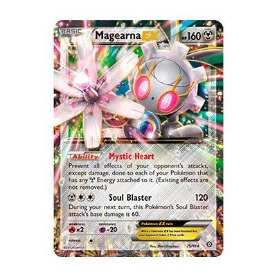Pokémon TCG: Magearna EX (75/114) - XY11 Cerco de Vapor