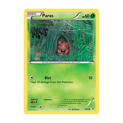 Pokémon TCG: Paras (6/83) - Gerações