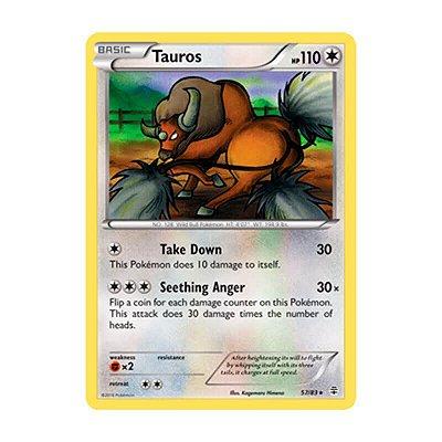 Pokémon TCG: Tauros (57/83) - Gerações