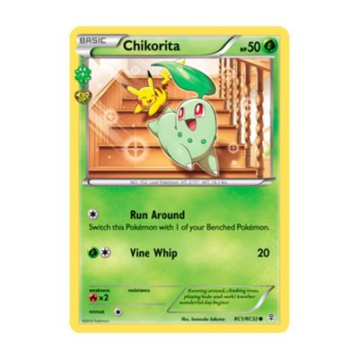Pokémon TCG: Chikorita (RC1/RC32) - Gerações