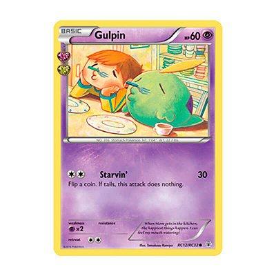 Pokémon TCG: Gulpin (RC12/RC32) - Gerações