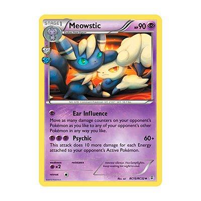 Pokémon TCG: Meowstic (RC15/RC32) - Gerações