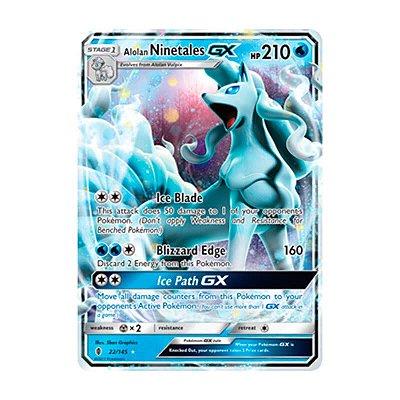 Pokémon TCG: Ninetales de Alola GX (22/145) - SM2 Guardiões Ascendentes