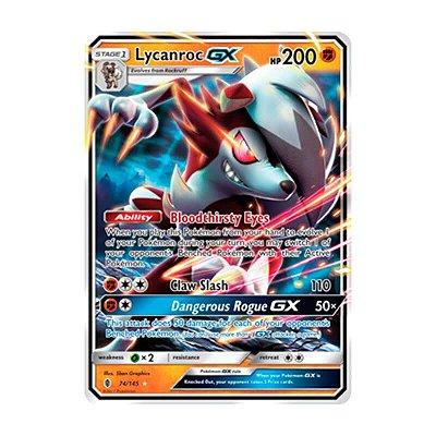 Pokémon TCG: Lycanroc GX (74/145) - SM2 Guardiões Ascendentes