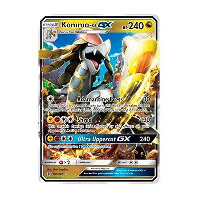 Pokémon TCG: Kommo-o GX (100/145) - SM2 Guardiões Ascendentes