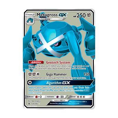 Pokémon TCG: Metagross GX (139/145) - SM2 Guardiões Ascendentes