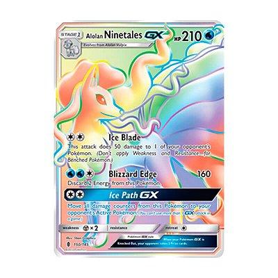 Pokémon TCG: Ninetales de Alola GX (150/145) - SM2 Guardiões Ascendentes