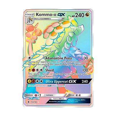 Pokémon TCG: Kommo-o GX (159/145) - SM2 Guardiões Ascendentes