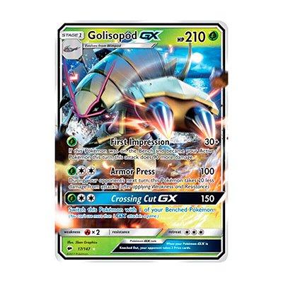 Pokémon TCG: Golisopod GX (17/147) - SM3 Sombras Ardentes