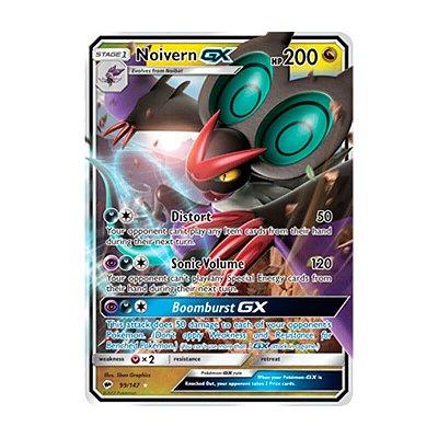 Pokémon TCG: Noivern GX (99/147) - SM3 Sombras Ardentes