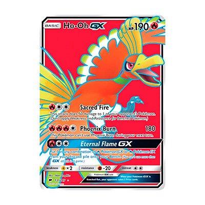 Pokémon TCG: Ho-Oh GX (131/147) - SM3 Sombras Ardentes