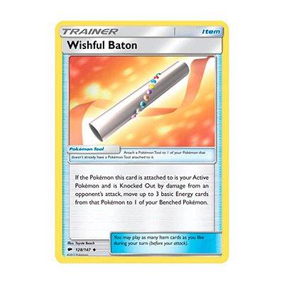 Pokémon TCG: Bastão do Desejo (128/147) - SM3 Sombras Ardentes