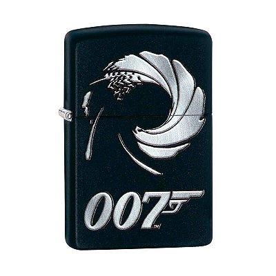 Isqueiro Zippo 29566 Classic James Bond 007™ Preto