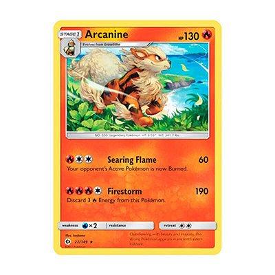 Pokémon TCG: Arcanine (22/149) - SM1 Sol e Lua