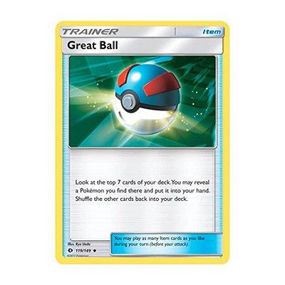 Pokémon TCG: Bola Grande (119/149) - SM1 Sol e Lua