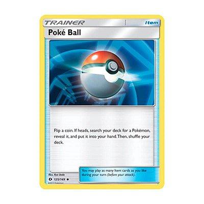 Pokémon TCG: Poké Bola (125/149) - SM1 Sol e Lua