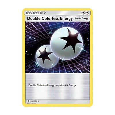 Pokémon TCG: Energia Incolor Dupla (136/149) - SM1 Sol e Lua