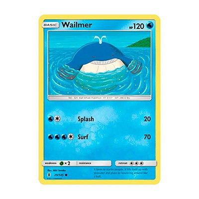 Pokémon TCG: Wailmer (29/145) - SM2 Guardiões Ascendentes