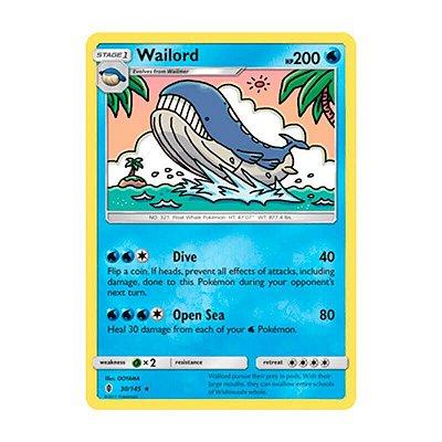 Pokémon TCG: Wailord (30/145) - SM2 Guardiões Ascendentes
