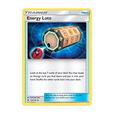 Pokémon TCG: Loto Energia (122/145) - SM2 Guardiões Ascendentes