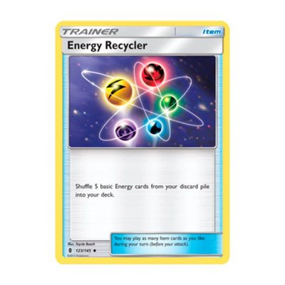 Pokémon TCG: Reciclador de Energia (123/145) - SM2 Guardiões Ascendentes