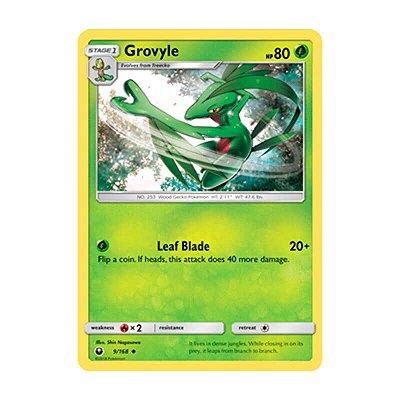 Pokémon TCG: Grovyle (9/168) - SM7 Tempestade Celestial