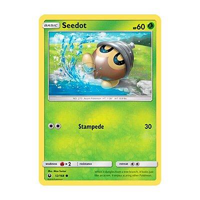 Pokémon TCG: Seedot (12/168) - SM7 Tempestade Celestial