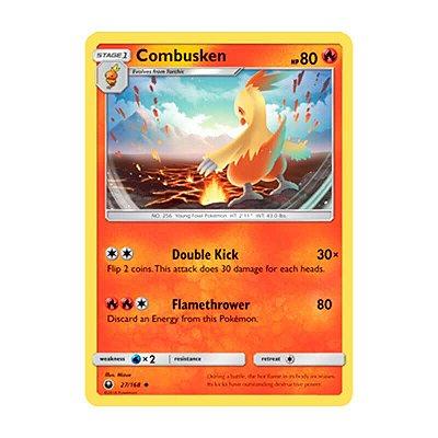 Pokémon TCG: Combusken (27/168) - SM7 Tempestade Celestial