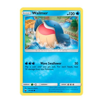 Pokémon TCG: Wailmer (39/168) - SM7 Tempestade Celestial
