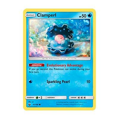 Pokémon TCG: Clamperl (41/168) - SM7 Tempestade Celestial