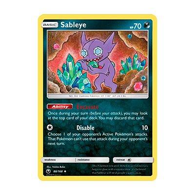 Pokémon TCG: Sableye (88/168) - SM7 Tempestade Celestial
