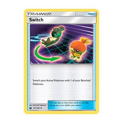 Pokémon TCG: Substituição (147/168) - SM7 Tempestade Celestial