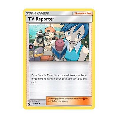 Pokémon TCG: Repórter Televisivo (149/168) - SM7 Tempestade Celestial