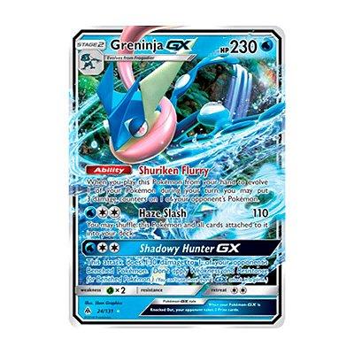 Pokémon TCG: Greninja GX (24/131) - SM6 Luz Proibida