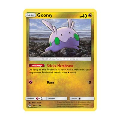 Pokémon TCG: Goomy (91/131) - SM6 Luz Proibida