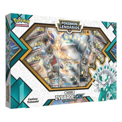 Pokemon TCG: Box Pokemon Lendarios - Zygarde-GX Brilhante