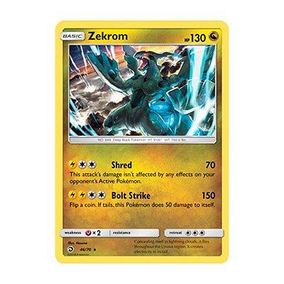 Pokémon TCG: Zekrom (46/70) - SM7.5 Dragões Soberanos