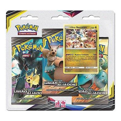 Pokémon TCG: Triple Pack SM9 União de Aliados - Ultra Necrozma