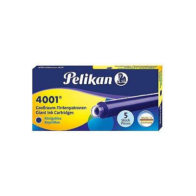 Cartucho de Tinta Grande Pelikan 4001 Azul Royal (5 unidades)