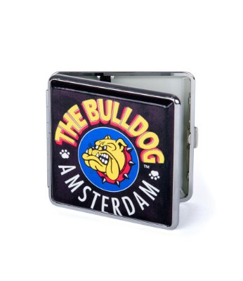 Cigarreira Case Logo The Bulldog Amsterdam em Metal GH00113